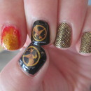 Hunger Games Nail Art!!