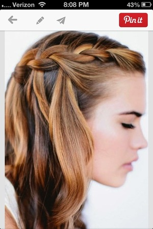 Simple School Hair Style And Make Up Beautylish