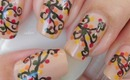 Nail Art Autumn Leaves