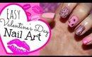 Easy Valentine's Day Nail Art Tutorial