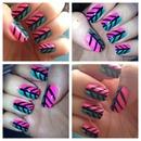 Nails inspired by MissJenFabulous