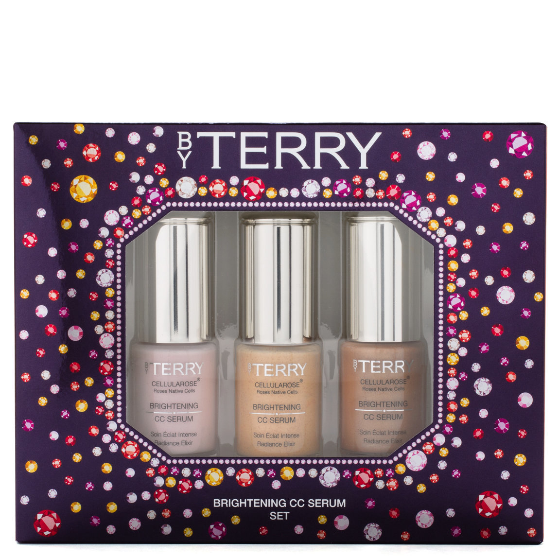 BY TERRY Gem Glow Brightening CC Serum Set product smear.
