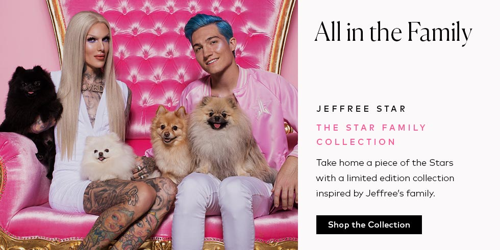 Shop Jeffree Star's Family Collection - now available!