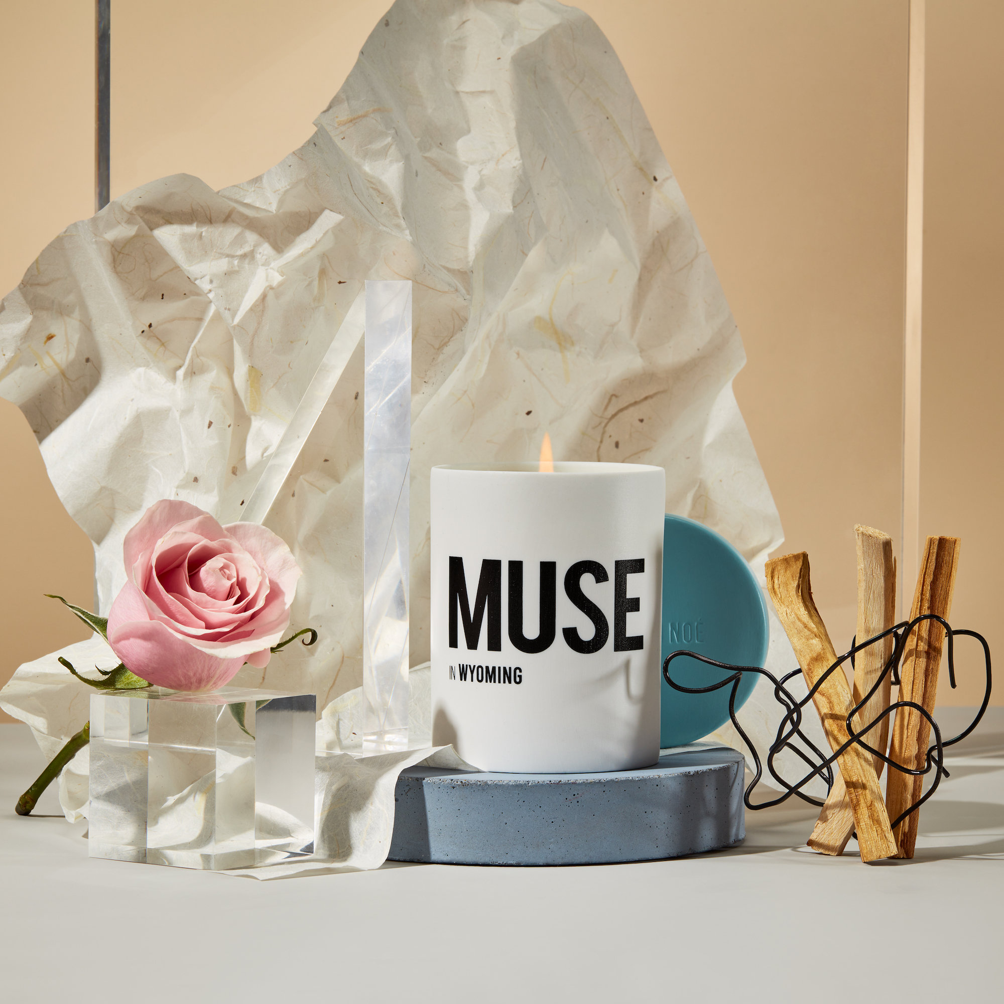 Alternate product image for Muse in Wyoming - Rosa Woodsii & Sandalwood shown with the description.