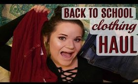 BACK TO SCHOOL | Collective TRY-ON Clothing Haul!