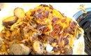 Cheddar Bacon Mushroom Chicken And Veggies