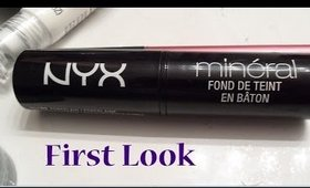 NYX Mineral Foundation Stick: First Look