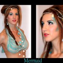 Mermaid Makeup look