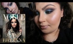 Rihanna's 2017 Vogue Cover Makeup Tutorial [Wearable]