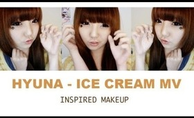 HowtoMakeUp | Hyuna (현아) | Ice Cream MV Inspired Makeup