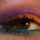 My first rainbow eyelook