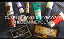 Current Favorites & GIVEAWAY!!!   chloeanneyoung