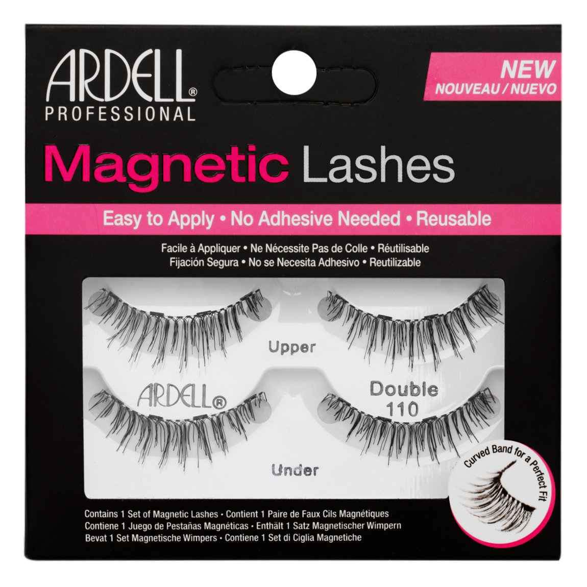 Ardell Magnetic Lashes Double 110 alternative view 1.