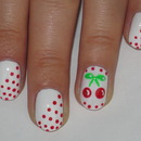 Cute Cherries and Dots