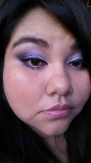 "Playing with my Tarte ""Carried Away"" palette."