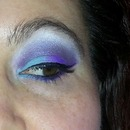 Teal & Purple look