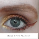 The Hunger Games series: District 5 makeup look