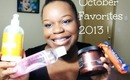 October Favorites 2013 !