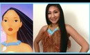 Disney's Pocahontas Makeup Tutorial & DIY Necklace (Halloween)