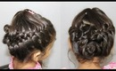 Easy Updo Hairstyle Step By Step For Short Medium to Long Hair