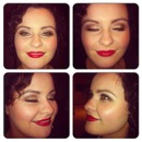 50s makeup look