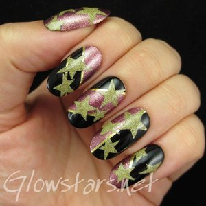 Read the blog post at http://glowstars.net/lacquer-obsession/2014/09/stars-and-colour-blocking/