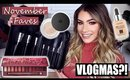 November Favorites & VLOGMAS?! | Kayleigh Noelle