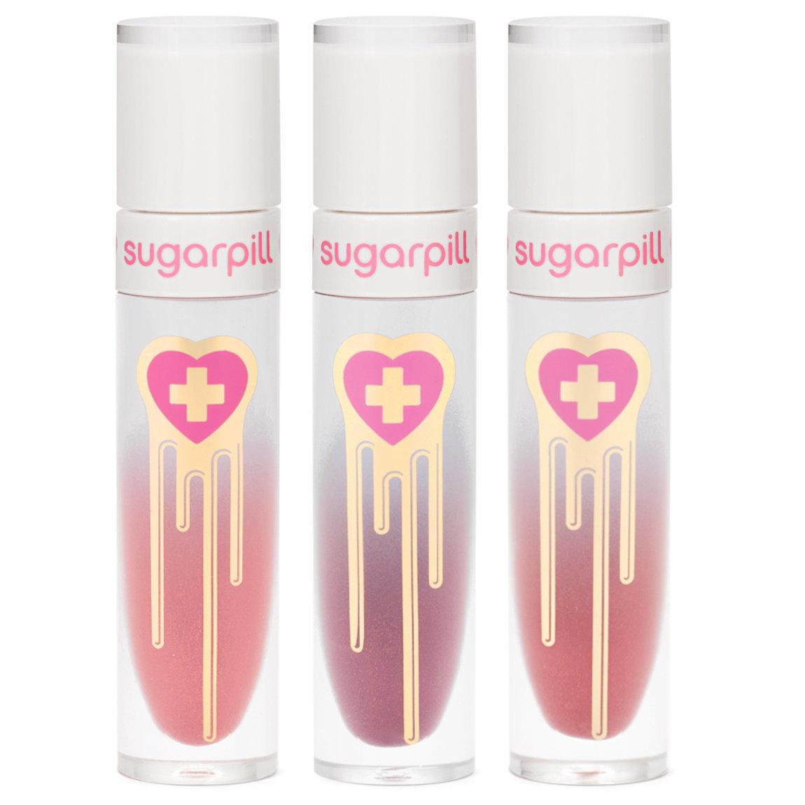 Sugarpill Cosmetics Trinket Trio product swatch.