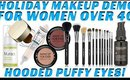 Hooded Puffy Eyes Makeup Tutorial for Women over 40 | Pro Artist Tips & tricks- mathias4makeup