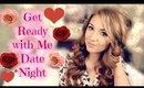 GRWM: Date Night (V Day Inspiration)