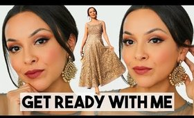 INDIAN PARTY MAKEUP TUTORIAL   GET READY WITH ME - TrinaDuhra