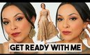 INDIAN PARTY MAKEUP TUTORIAL | GET READY WITH ME - TrinaDuhra