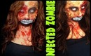 Infected Zombie- Halloween Makeup 2013