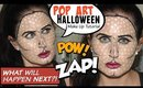 Pop Art Halloween Makeup Tutorial