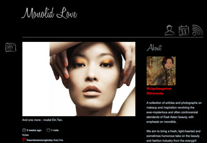 Monolid Love - a blog a friend and I started in appreciation of the Asian monolid