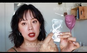 beauty products I used up | Serein Wu low buy year