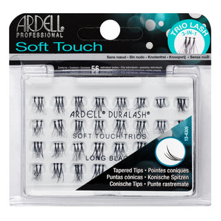 Soft Touch Trio Individuals Knotted Long Black