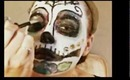 Day of the Dead inspired Makeup