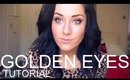 Golden Smokey Eyes- NAKED Palette Tutorial (Requested)! ♡ | rpiercemakeup