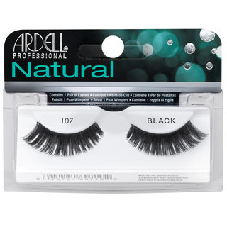 Natural Lashes 107 Black
