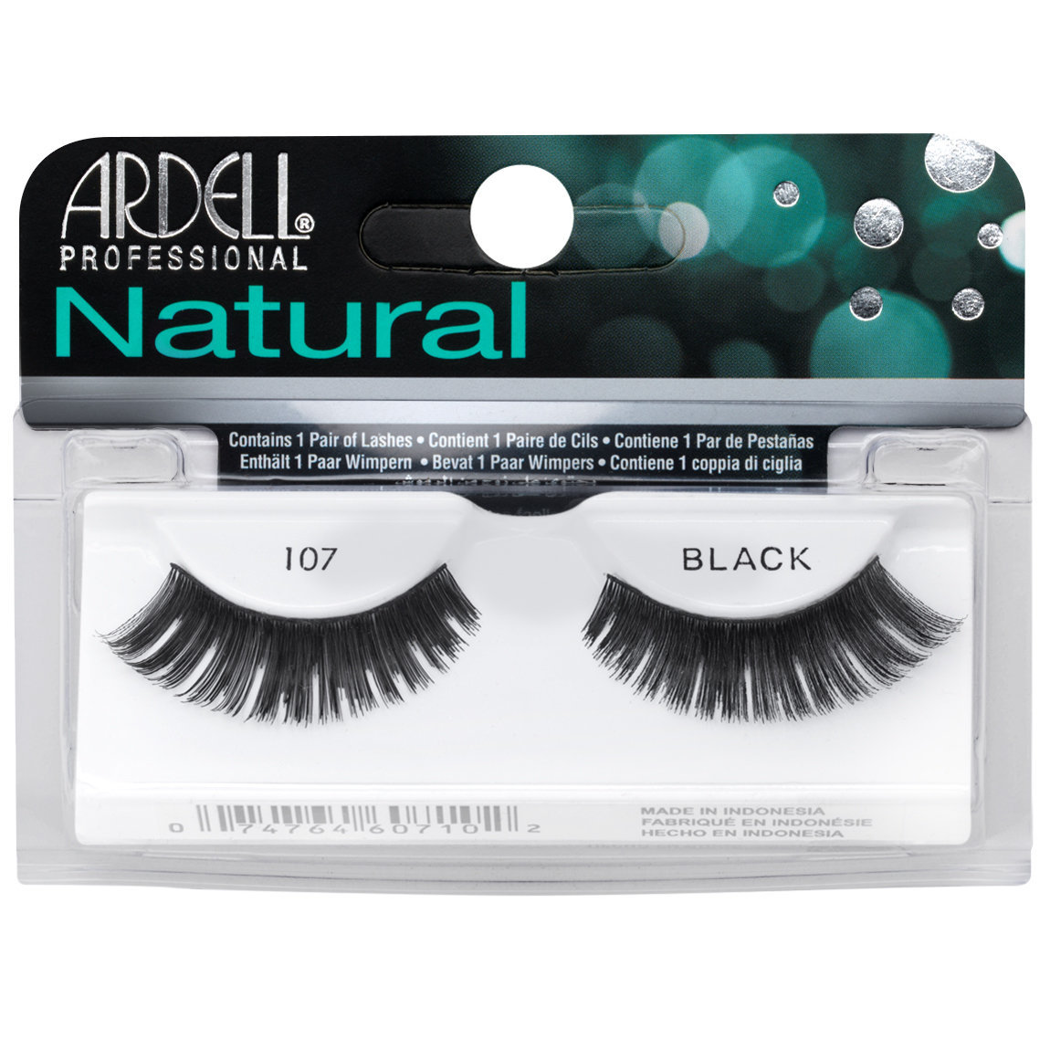 Ardell Natural Lashes 107 Black alternative view 1.