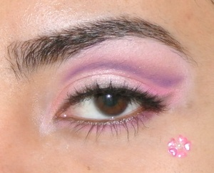 Spring Cherry blossom inspired makeup