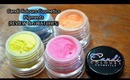 Candi Colours Cosmetics Pigments (Review & Swatches)