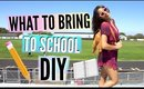 What To Bring For Back To School + DIY Backpack Essentials GIVEAWAY