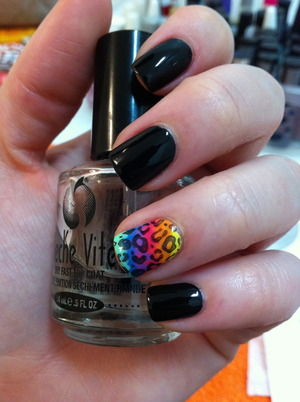 # 13 - animal print  Lisa Frank inspired!