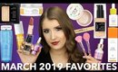 MARCH 2019 BEAUTY FAVORITES | MAKEUP, SKINCARE, & MORE!