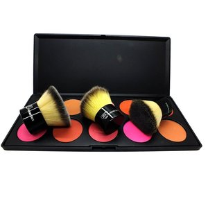 Royal Care Cosmetics Contour and Blush Set www.rc-cosmetics.com brush cleaning glove pro and camp palette