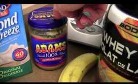 PB & Banana Protein Shake
