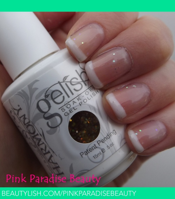 Gelish French Manicure Laura E S Pinkparadisebeauty