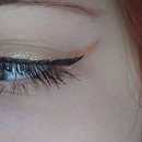 Gold Winged Liner